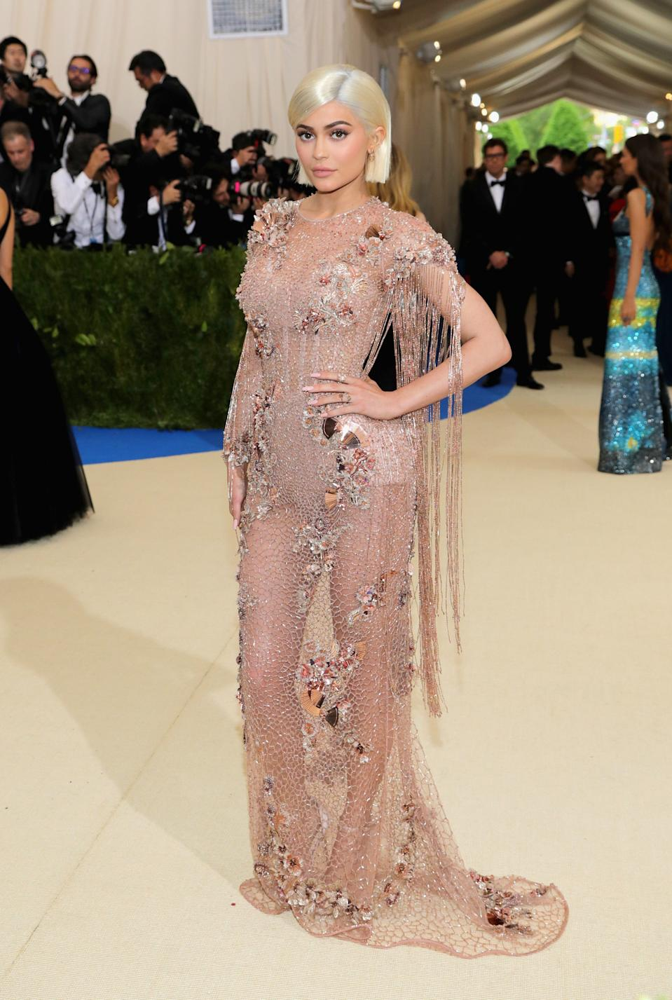 """<h1 class=""""title"""">Kylie Jenner in Versace</h1><cite class=""""credit"""">Photo: Getty Images</cite>"""