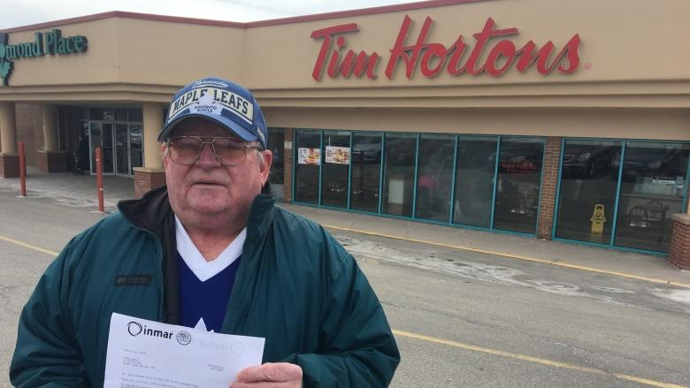 Hold on to the whole rim or don't win, lifelong Tim Hortons customer learns