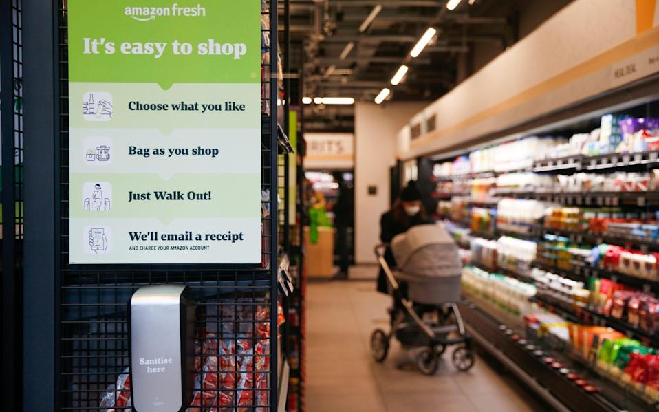 There are no cashiers or checkouts; just a simple set of instructions - Hollie Adams/Bloomberg