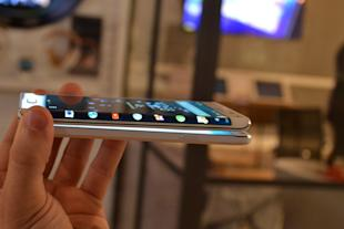 Business Insider/Lisa Eadicicco The Galaxy Note Edge Samsung has been showing off its flexible display technology for years, but now we're actually seeing these panels appear in everyday smartphones. Samsung's new Note Edge, which the company unveiled Wednesday, may look like an ordinary smartphone at first glance, but upon closer inspection you'll notice the curved secondary screen that gives the device its name. The curved portion of the screen works independently of the main display. Other than its rounded screen, the Note Edge is identical to the new Galaxy Note 4 in terms of hardware. That means it has the same sharp 2560 x 1440 resolution display and the S Pen stylus. Samsung has shown prototype devices like this in the past, but this is the first time we're seeing such a device that will actually launch. The Note Edge will be available on AT&T, Verizon, Sprint, and T-Mobile later this fall, but pricing has yet to be announced. Samsung said it will be priced the same as its premium handsets, hinting it'll probably cost around the same as the Note 4. (Previous Note phones went for about $300 with a carrier contract.) Business Insider/Lisa Eadicicco The side screen can turn on independently from the main screen. The curved portion of the Edge has two main benefits, according to Samsung. First, it can provide information such as the time, alarms, and news headlines while the phone's main screen is turned off. Second, it supposedly makes it more convenient to use certain apps since the curved sidebar changes depending on which app you're using. For example, if you're using the phone's camera, controls such as the capture key and various mode buttons would appear on the rounded edge. This, according to Samsung, gives you more real estate on the main screen. Business Insider/Lisa Eadicicco You can control apps on the side screen too. While this may be true, there were also instances in which it became an annoyance. In some cases the curved part of the display overlaps with the main interface and cuts off certain buttons. During a product demo, we also noticed that the orientation didn't change when the phone moves. Samsung said that the orientation switches to face you when the main screen is turned off, and you'll be able to interact with the curved screen when it's in this mode. So, theoretically, you'll be able to conserve battery power by turning your phone's main display off, and scrolling through news headlines, stocks, and checking the time on the Edge's rounded secondary screen.  Samsung says it's already working with companies like Yahoo to provide information that can be viewed across the Edge's secondary display. The company hopes to rope more developers into incorporating this functionality into their apps. For what it's worth, the Note Edge's second screen was extremely responsive. It was easy to flip through different app icons and home screens on the phone's rounded display. If you flick to hard when you're trying to scroll through screens on this smaller display, however, you'll accidentally launch apps. It's interesting to see Samsung launch more consumer products using its curved display technology, but it's unclear if the Note Edge will be a hit or just a niche product.  Read more stories on Business Insider, Malaysian edition of the world's fastest-growing business and technology news website.