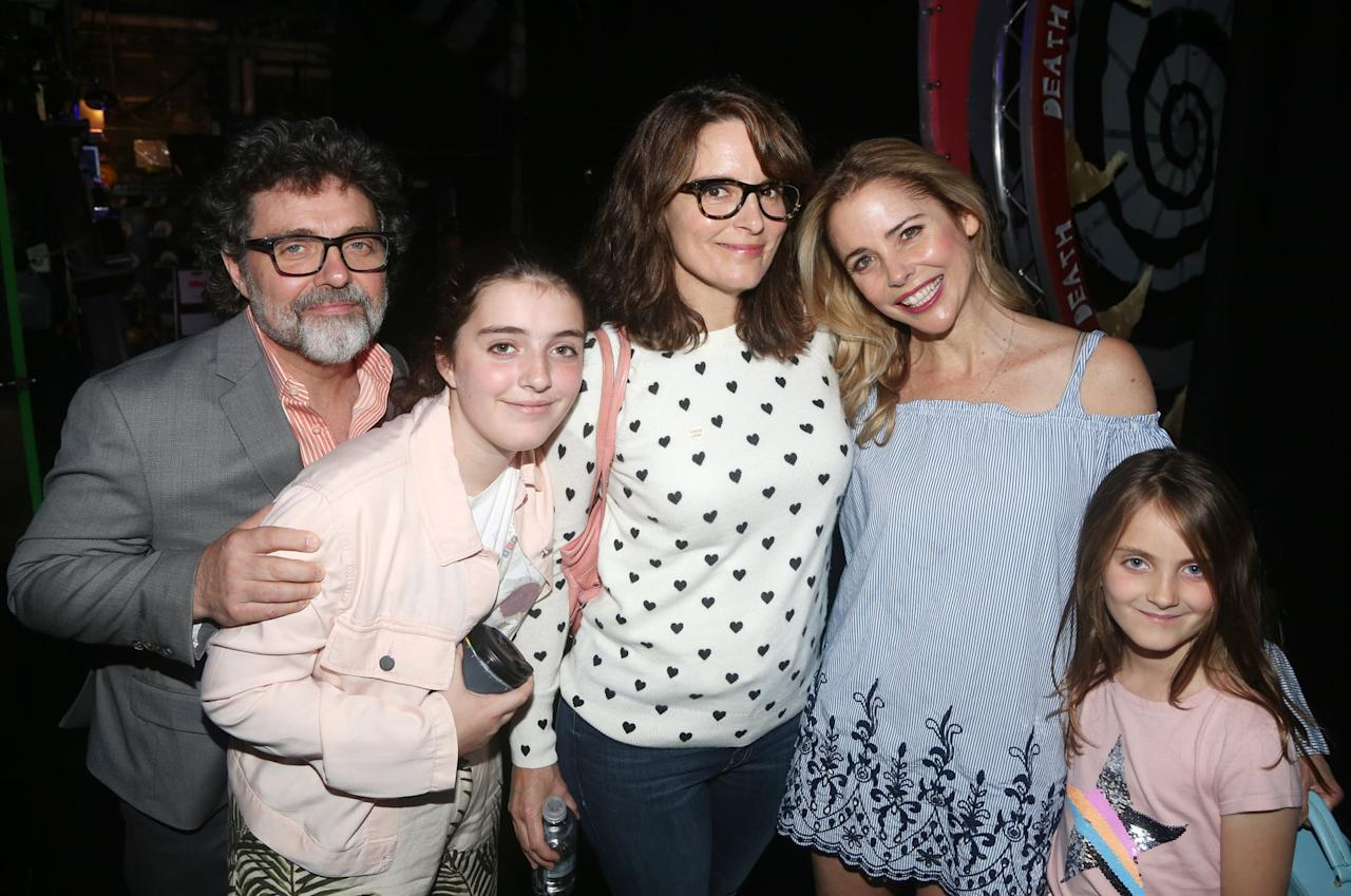 """<p>For comedian and actress, <a class=""""sugar-inline-link ga-track"""" title=""""Latest photos and news for Tina Fey"""" href=""""https://www.popsugar.com/Tina-Fey"""" target=""""_blank"""" data-ga-category=""""Related"""" data-ga-label=""""https://www.popsugar.com/Tina-Fey"""" data-ga-action=""""&lt;-related-&gt; Links"""">Tina Fey</a>, the <a href=""""https://www.popsugar.com/family/Video-Tina-Fey-Talking-Babies-Oprah-15667479"""" class=""""ga-track"""" data-ga-category=""""Related"""" data-ga-label=""""https://www.popsugar.com/family/Video-Tina-Fey-Talking-Babies-Oprah-15667479"""" data-ga-action=""""In-Line Links"""">decision to have another baby</a> after welcoming daughter Alice Zenobia in 2005 wasn't an easy one. In her memoir <strong>Bossypants</strong>, Fey explained her trepidation, writing, """"Science shows that fertility and movie offers drop off steeply for women after 40.""""</p> <p>Fey gave birth to baby number two, daughter Penelope Athena, in 2011, at the age of 41.</p>"""