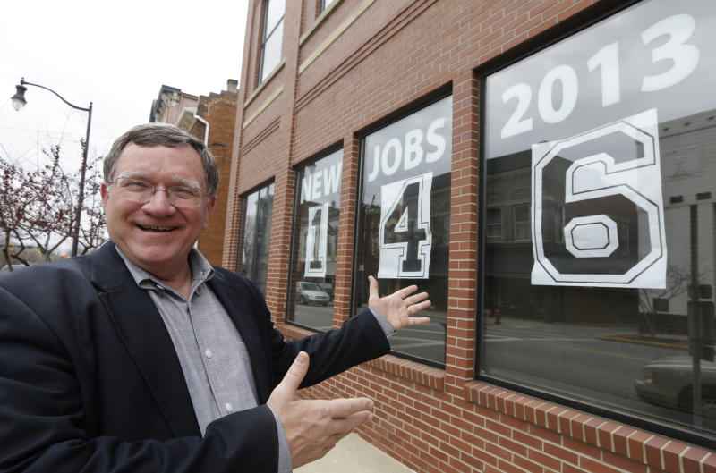 Ohio city that became recession focus rebounds