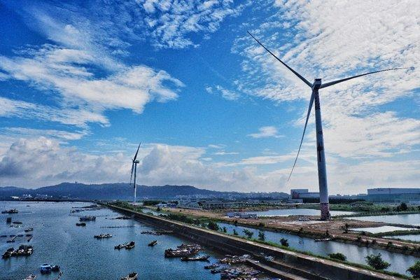 """China's first 8MW offshore wind turbine featuring """"black start"""" technology"""