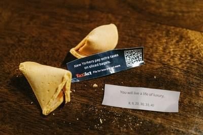 OpenFortune and TaxAct Fortune Cookie