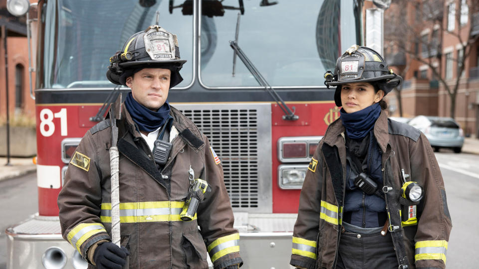 'Chicago Fire'. (Credit: NOW TV)