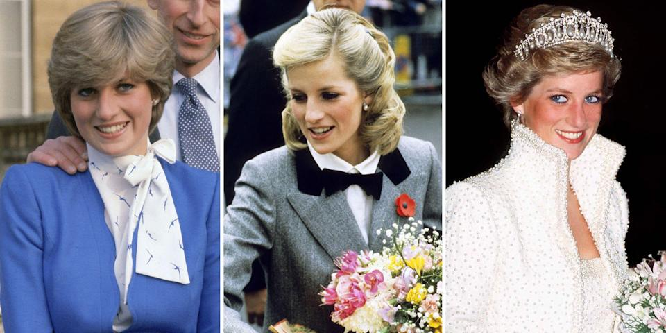 "<p>Princess Diana may be most well-known as the ""People's Princess"" and one of the <a href=""http://www.harpersbazaar.com/fashion/street-style/g10330122/princess-diana-fashion-style/"" rel=""nofollow noopener"" target=""_blank"" data-ylk=""slk:greatest style icons"" class=""link rapid-noclick-resp"">greatest style icons</a> of all time, but the late royal's hair is worth noting too. From an elegant shag to perfectly coiffed cuts, Diana's locks paved the way for the biggest hair trends of the '80s and '90s. Take a look back at all the late royal's greatest hairstyles. </p>"