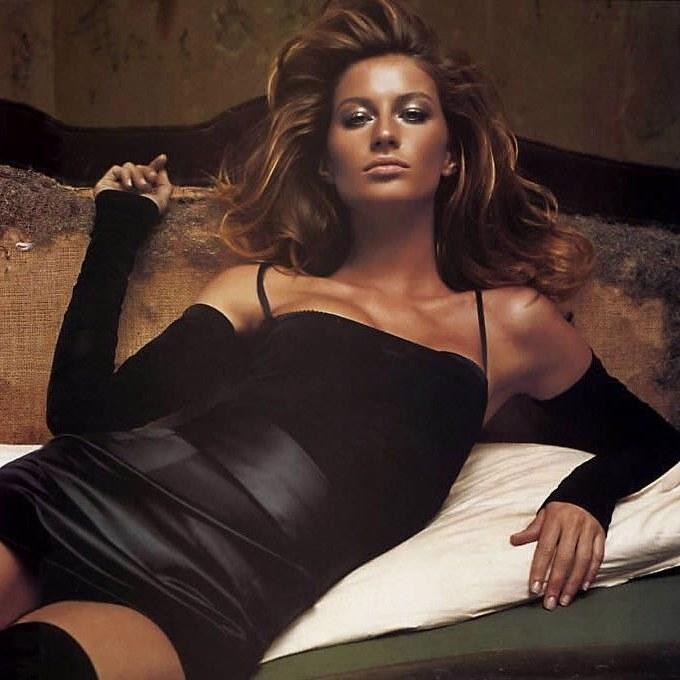 A Dolce & Gabbana campaign starring Gisele Bündchen. Photographed by Steven Meisel, with hair styled by Garren.