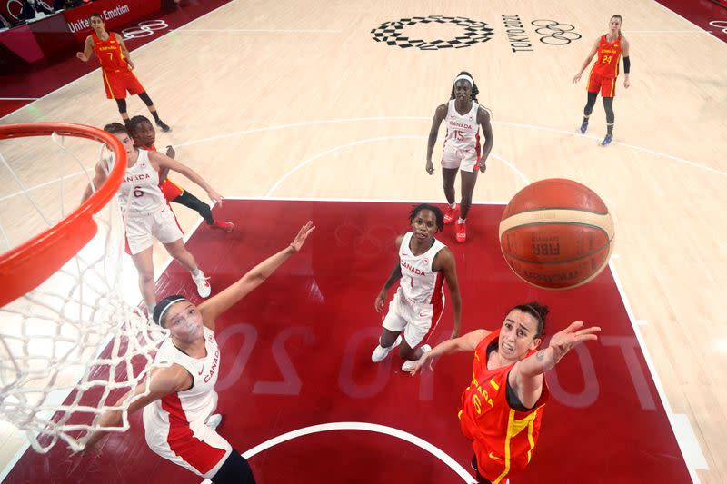 It was originally scheduled to be held in 2020, but on 24 march 2020. Olympics-Basketball-Spain smash Canada to sweep women's ...