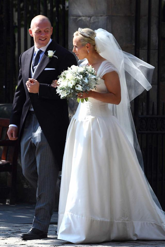 <p>The oldest granddaughter of Queen Elizabeth II and an accomplished equestrian, Zara married rugby player Mike Tindall in 2011. They had first met eight years earlier during England's Rugby World Cup-winning campaign in Australia. </p>