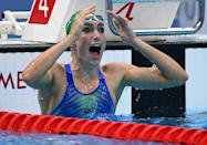 Tatjana Schoenmaker smashed a world record and won South Africa's first Olympic swimming gold medal for 25 years
