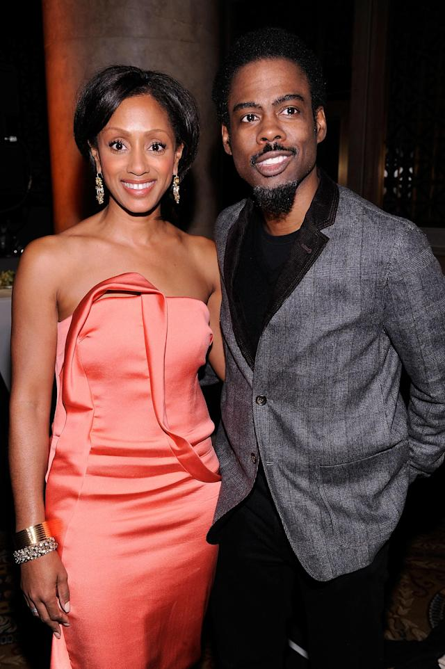 "<p>After ending their 20-year marriage in 2014, Chris and Malaak squabbled for about two years to come to terms regarding their divorce, reportedly in a disagreement over the amount of child support she should receive. Their settlement terms were kept private. ""I asked myself, 'Do I want to be angry for a year?' It's not a cool place to be. It's not healthy,"" <a href=""https://www.today.com/popculture/chris-rock-gets-candid-about-his-divorce-infidelities-having-start-t111160"" rel=""nofollow noopener"" target=""_blank"" data-ylk=""slk:Rock later said"" class=""link rapid-noclick-resp"">Rock later said</a> of not letting divorce get the best of him. (Photo: Getty Images) </p>"
