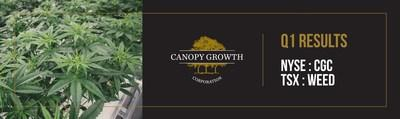 Canopy Growth drives revenue with 94% increase in recreational dried cannabis sales in first quarter of fiscal 2020 (CNW Group/Canopy Growth Corporation)