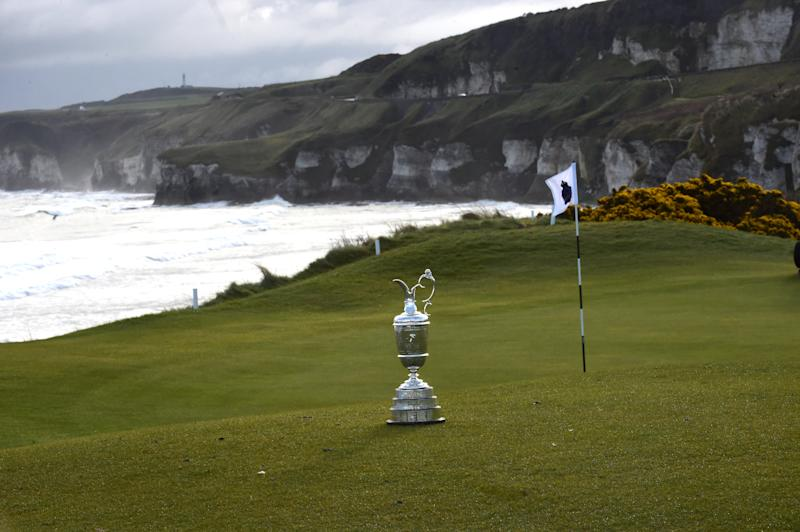 The Open Championship tees off Thursday at Royal Portrush. (Reuters)