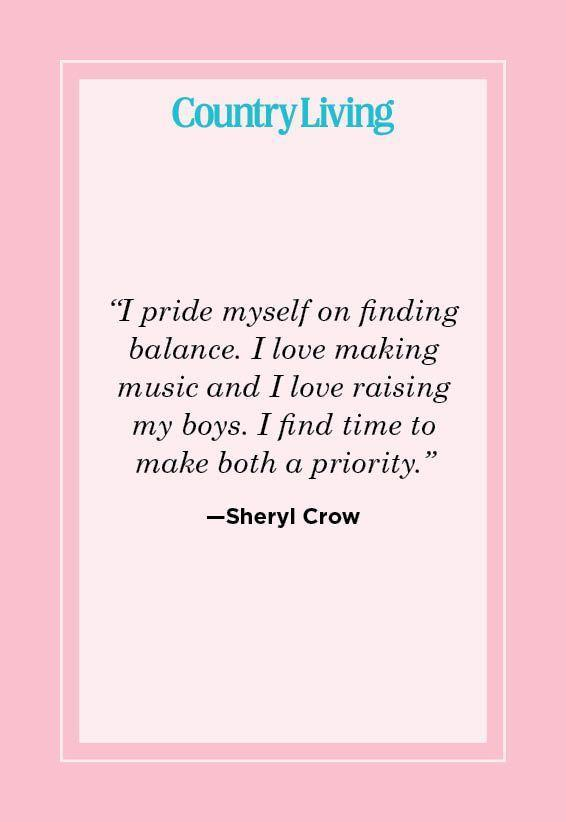 "<p>""I pride myself on finding balance. I love making music and I love raising my boys. I find time to make both a priority.""</p>"
