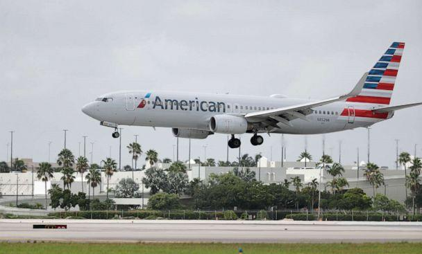 PHOTO: An American Airlines Boeing 737-823 lands at Miami International Airport, Monday, July 27, 2020, in Miami. (Wilfredo Lee/AP, File)