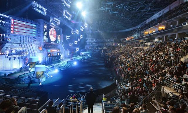 """<span class=""""element-image__caption"""">eSports competitions like last year's Epicenter tournament at the VTB Ice Palace in Moscow have grown into popular events for spectators worldwide.</span> <span class=""""element-image__credit"""">Photograph: Kommersant Photo/Kommersant via Getty Images</span>"""