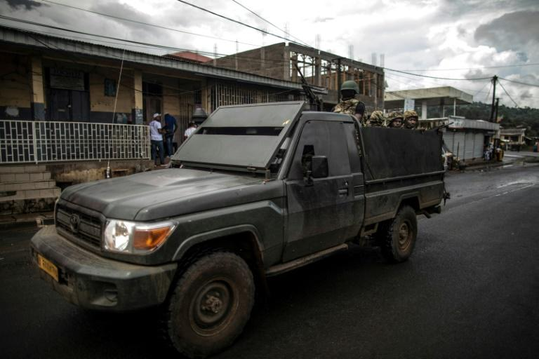 In October 2017, anglophone separatists declared independence in two English-speaking regions, triggering a crackdown by the security forces (AFP Photo/MARCO LONGARI)