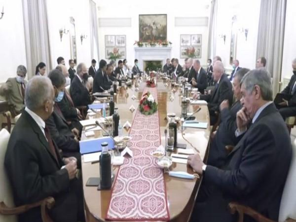 A high-level India-Russia inter-governmental consultations on Afghanistan. (ANI)