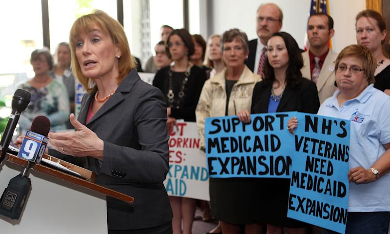Governor making pitch to expand Medicaid in NH