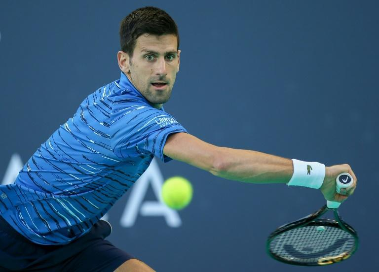 Serbia's Novak Djokovic has called for the Davis Cup and ATP Cup to merge (AFP Photo/-)
