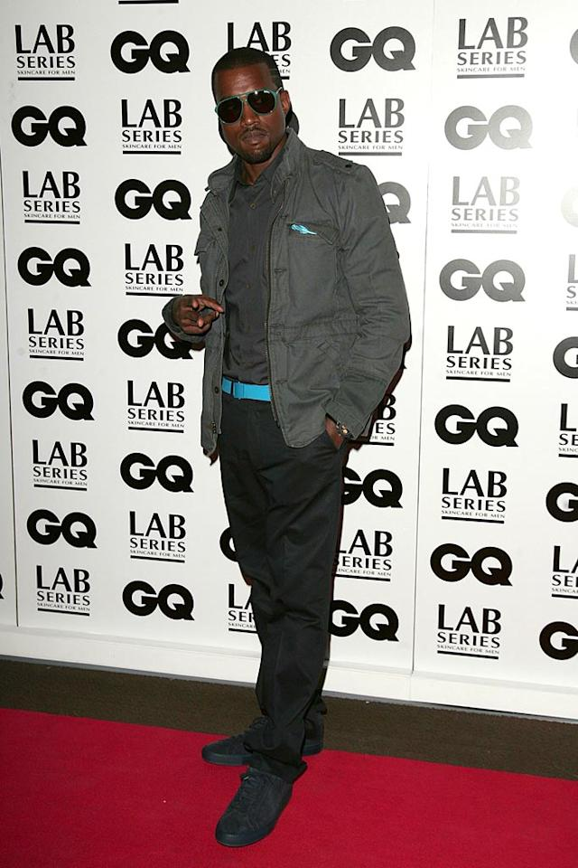 "Kanye West is the third most desirable man for single females. He exudes coolness, outspokenness, and confidence. <a href=""http://www.splashnewsonline.com"" target=""new"">Splash News</a> - September 4, 2007"