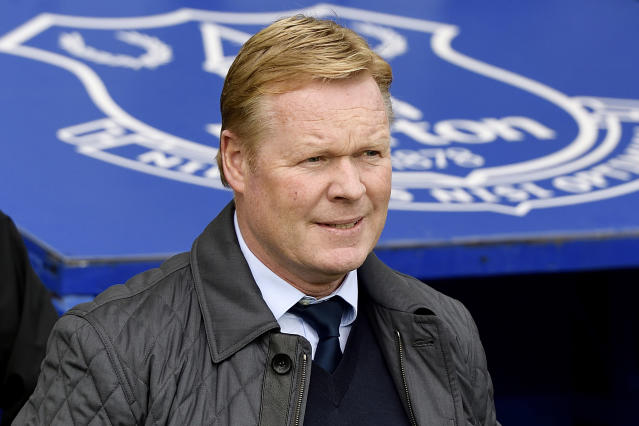 Ronaldo Koeman has been sacked by Everton. (Getty)