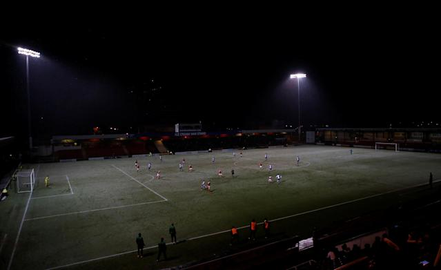 Soccer Football - FA Cup Second Round Replay - Crewe Alexandra vs Blackburn Rovers - The Alexandra Stadium, Crewe, Britain - December 13, 2017 General view during the match Action Images/Craig Brough