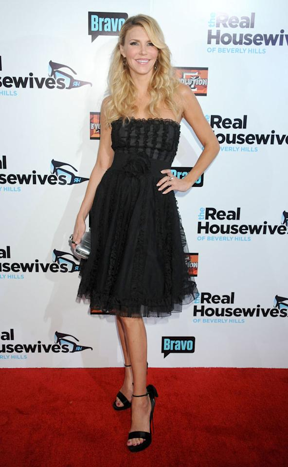 "Brandi Glanville arrives at ""The Real Housewives Of Beverly Hills"" Season 3 premiere party at the Hollywood Roosevelt Hotel on October 21, 2012 in Hollywood, California."