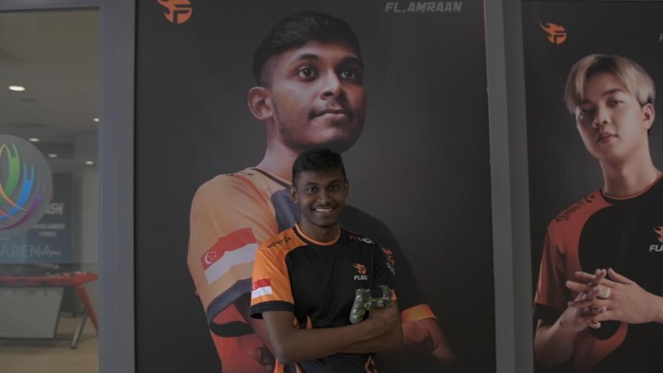 Amraan Gani has won more than $100,000 in prize money in his career as an esports athlete. (PHOTO: Stefanus Ian/Yahoo News Singapore)
