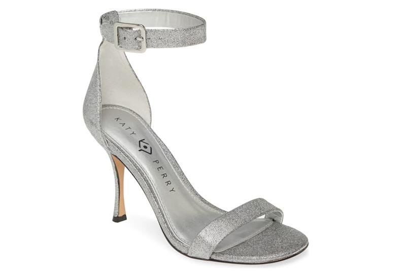 katy perry silver sandals