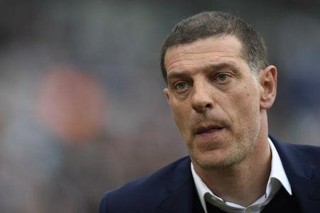 West Ham United manager Slaven Bilic before the match