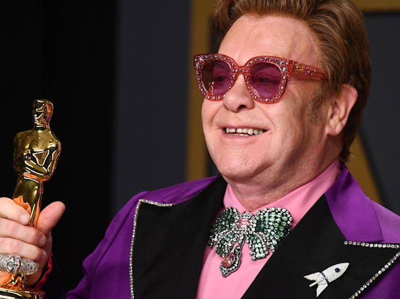 Elton John confirms support for face masks after claims he broke rules in Italy