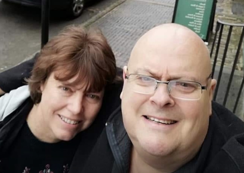 Mary Matthews wrote on Facebook that her husband Nick had died in hospital after contracting coronavirus. (Picture: Facebook)