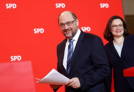 Germany's Schulz abandons plan to become foreign minister