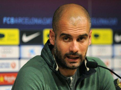 Guardiola has spent most of his playing career at Barcelona