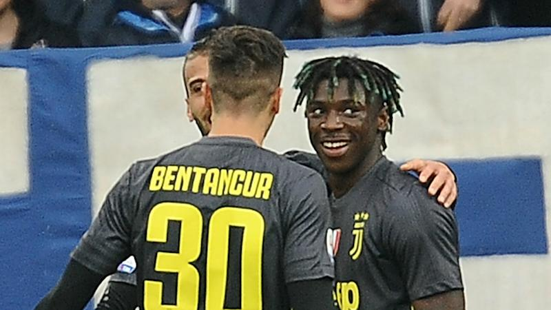 Allegri considering starting Kean against Ajax after SPAL deny Juventus record title