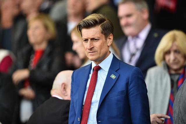 Crystal Palace chairman Steve Parish (Credit: Getty Images)