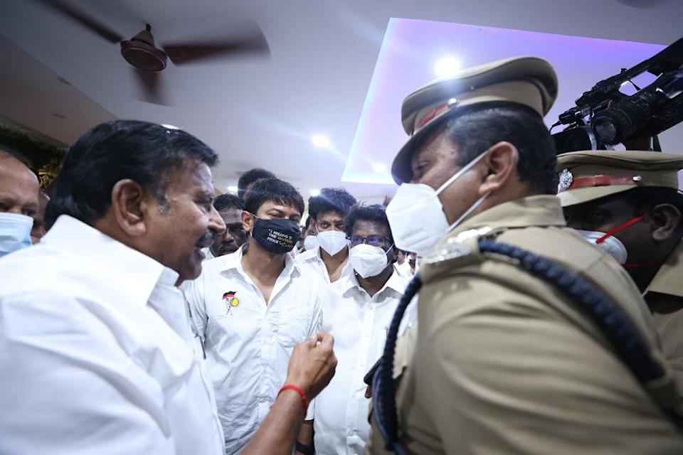 Udhayanidhi Stalin, along with several leaders were detained.