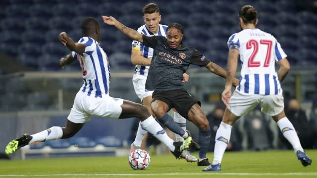 City had to settle for a goalless draw against Porto