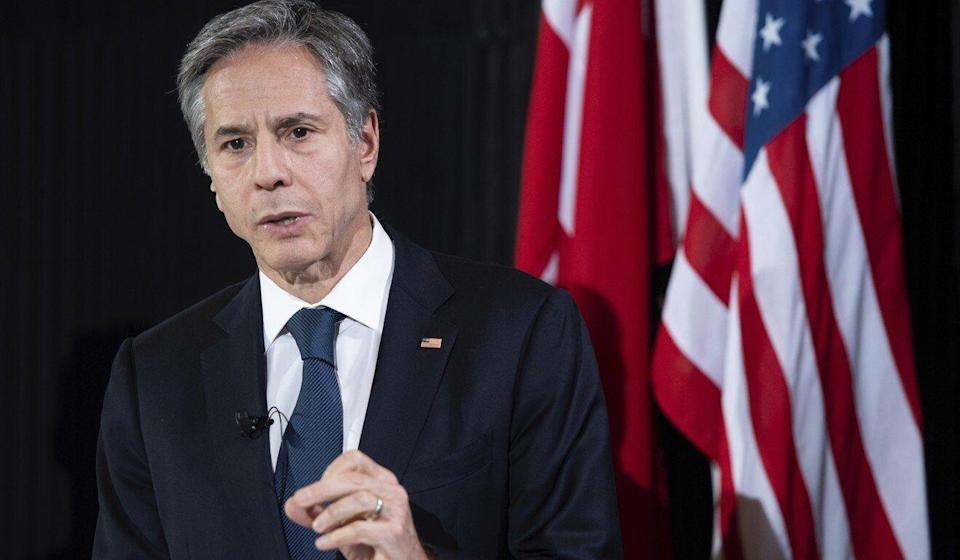 'We'll be, I'm sure in the months ahead, talking to allies and partners about their views on the Olympics,' US Secretary of State Antony Blinken said last week. Photo: AP