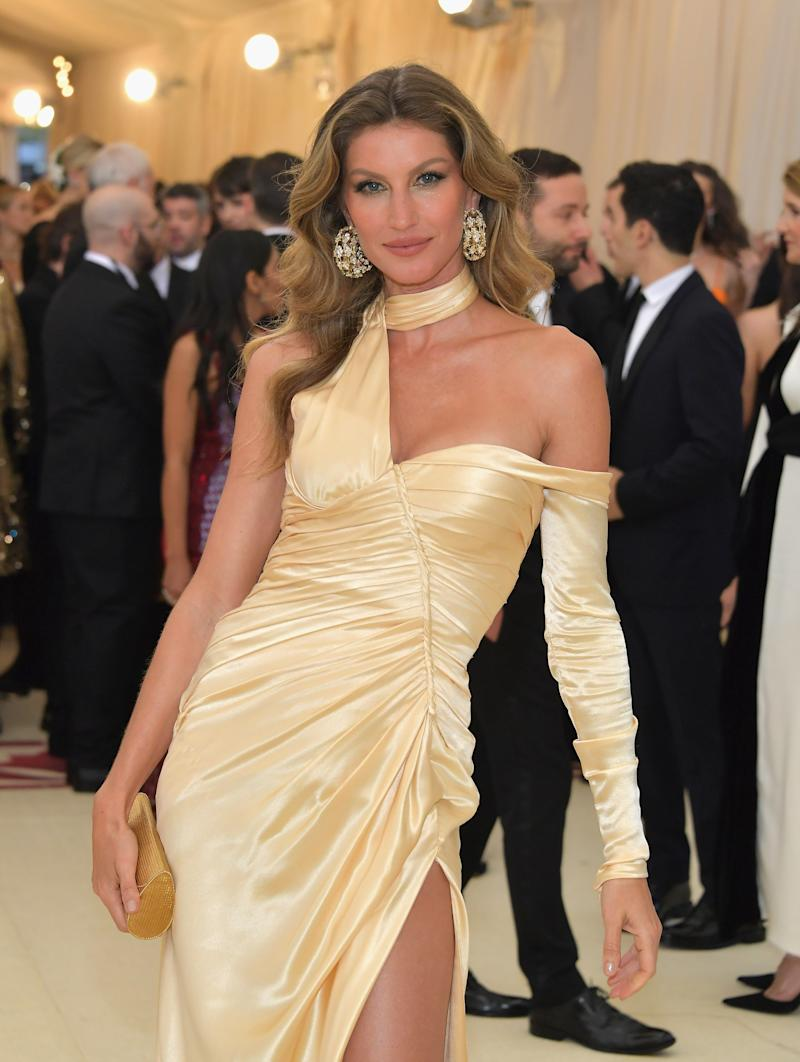 6d85903b14a9 Gisele Bundchen at the 2018 Met Gala for