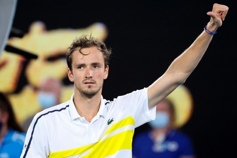Russia's Daniil Medvedev is going for his first Grand Slam title