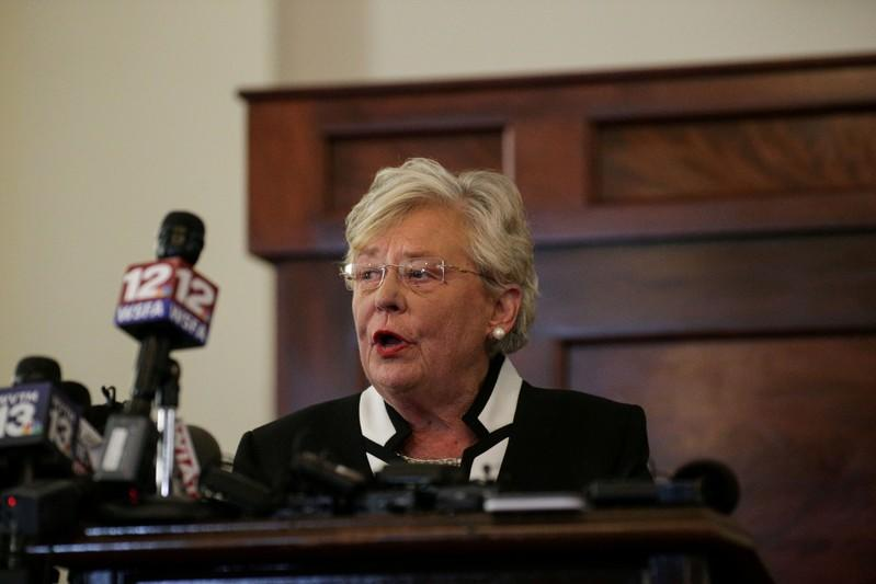 FILE PHOTO: Alabama Lt Governor Kay Ivey in a file photo dated April 10, 2017