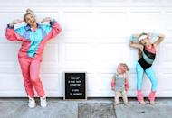 """<p>Throw on a vintage tracksuit and some leg warmers and Jazzercise your way through Halloween this year. After you work up a sweat, you'll really feel like you've earned all that Halloween candy. </p><p><strong>See more at <a href=""""https://www.chasingayden.com/halloween-countdown/"""" rel=""""nofollow noopener"""" target=""""_blank"""" data-ylk=""""slk:Chasing McAllisters"""" class=""""link rapid-noclick-resp"""">Chasing McAllisters</a>.</strong></p><p><strong><a class=""""link rapid-noclick-resp"""" href=""""https://go.redirectingat.com?id=74968X1596630&url=https%3A%2F%2Fwww.walmart.com%2Fip%2FLadies-Girls-Teen-80-s-Women-Ribbed-Leg-Warmers-Dance-Legwarmers-Purple%2F135709491&sref=https%3A%2F%2Fwww.thepioneerwoman.com%2Fholidays-celebrations%2Fg32645069%2F80s-halloween-costumes%2F"""" rel=""""nofollow noopener"""" target=""""_blank"""" data-ylk=""""slk:SHOP LEG WARMERS"""">SHOP LEG WARMERS</a></strong></p>"""
