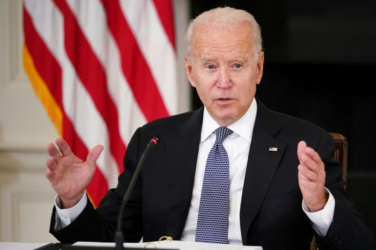 'We hear the cries of freedom coming from the island' of Cuba, US President Joe Biden said before meeting at the White House with Cuban-American leaders