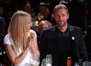 """<p>Gwyneth Paltrow and Chris Martin <a href=""""http://people.com/celebrity/gwyneth-and-chriss-secret-wedding/"""" rel=""""nofollow noopener"""" target=""""_blank"""" data-ylk=""""slk:tied the knot"""" class=""""link rapid-noclick-resp"""">tied the knot</a> in a secret ceremony in a Santa Barbara hotel on December 5, 2003. The former couple had two children together: Apple and Moses. The pair separated in March 2014 after over a decade of marriage. </p>"""