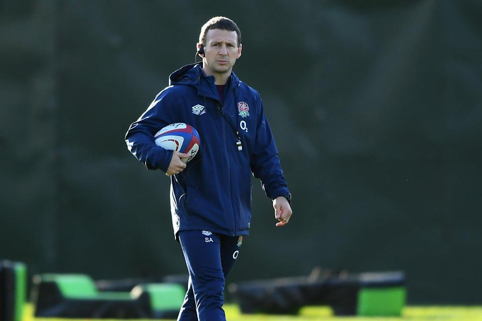 Simon Amor has left his role as England attack coach (Getty Images)