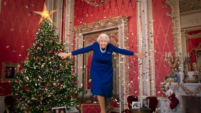 A deepfake version of The Queen appeared in the Alternative Christmas Message 2020 (Channel 4/PA)