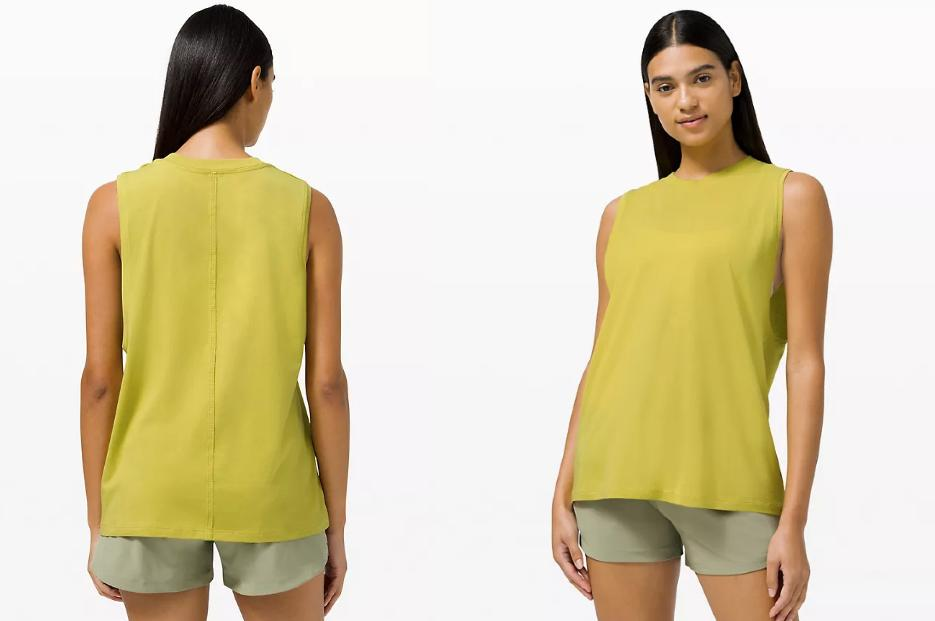 Lululemon's latest round of markdowns includes this cute and airy tank top.