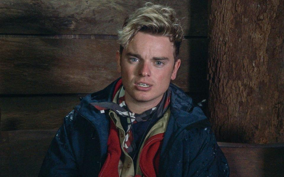 Jack hasn't publicly commented on his jungle exit. Copyright: [ITV]